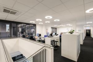 Einrichtung Bürogebäude